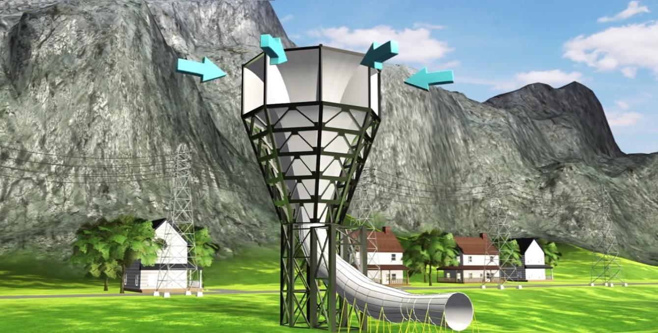 SheerWind Invelox - Futuristic Wind Turbine That Produces 600% More ...